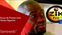 Revue de Presse du 10 Fevrier 2020 avec  Fabrice Nguema