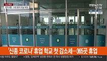 '신종코로나' 휴업 학교 첫 감소세…365곳 휴업