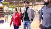 Hrithik Roshan, Kareena Kapoor, Karan Johar, Chunky Pandey & others spotted at Airport