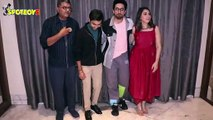 SHUBH MANGAL ZYADA SAAVDHAN promote their movie at JW Marriott Hotel
