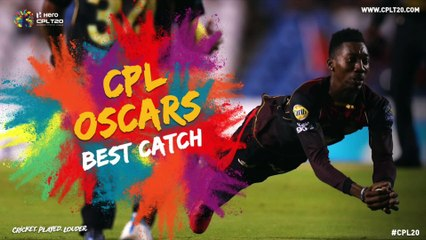 CPL OSCARS | BEST CATCH | #CPLOscars #CPL20 #CricketPlayedLouder #BiggestPartyInSport #Oscars