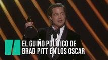 El discurso de Brad Pitt al recibir el Oscar a Mejor Actor