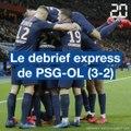 Le debrief express de PSG-OL