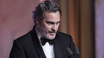 Joaquin Phoenix's VERY UNIQUE Oscars 2020 Best Actor Acceptance Speech