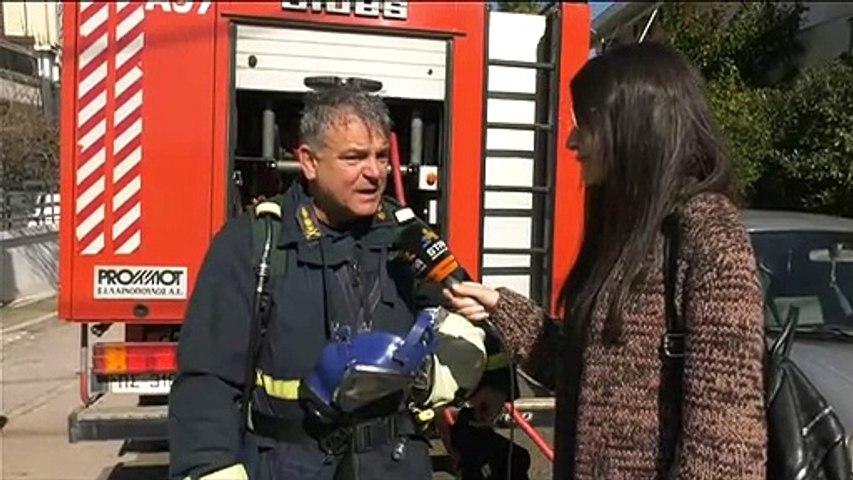 Φωτιά σε διαμέρισμα στην Αγ.Μαρίνα Χαλκίδας
