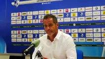 """Après GF38 - Paris FC - Philippe Hinschberger : """"Je ne comprend pas"""""""