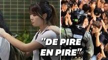 À Hong Kong, les images choquantes des dernières arrestations