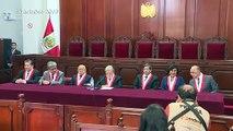 Reabrir congreso cesado es algo remoto, admite jefe de máxima corte de Perú
