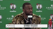 Kemba Walker On Celtics Comeback: 'We're Not Gonna Shy Away When Things Go Wrong.'