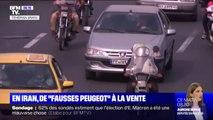 """En Iran, de """"fausses Peugeot"""" circulent depuis le retrait de PSA du pays"""