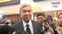 Respon Zahid desas desus ahli UMNO boikot majlis pengumuman calon BN
