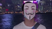 Hong Kong Halloween protests to test mask ban