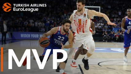 Round 5 MVP: Vasilije Micic, Anadolu Efes Istanbul
