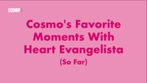 Cosmo's Favorite Moments With Heart Evangelista (So Far)