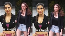 Spotted Aditi Rao Hydari at Kromakay salon in Juhu and Sophie Choudary at the gym