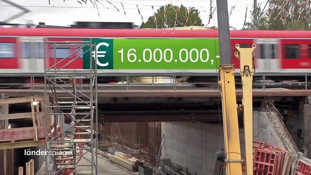 Hammer der Woche – Kostenexplosion bei Tunnelbau