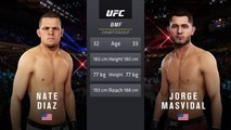 UFC 244: Diaz vs. Masvidal - UFC Baddest Motherfucker Title Fight - CPU Prediction