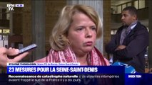 """""""Je suis un peu douchée"""", la déception de la maire PS de Bondy après l'annonce des 23 mesures du gouvernement pour la Seine-Saint-Denis"""
