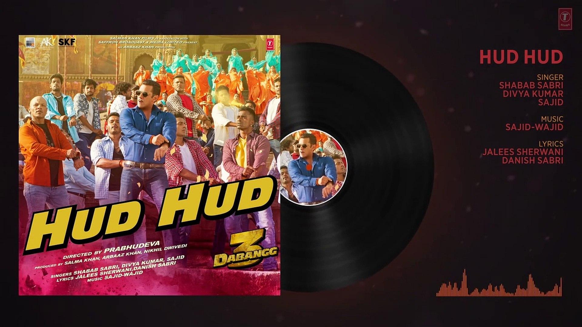 Dabangg 3: Hud Hud Song | Salman Khan | Sonakshi Sinha |Divya Kumar,Shabab | Sajid Wajid | Flixaap
