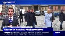 Emmanuel Macron est à Honfleur où il s'apprête à passer un week-end privé