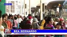 Fewer passengers troop to Araneta bus terminal
