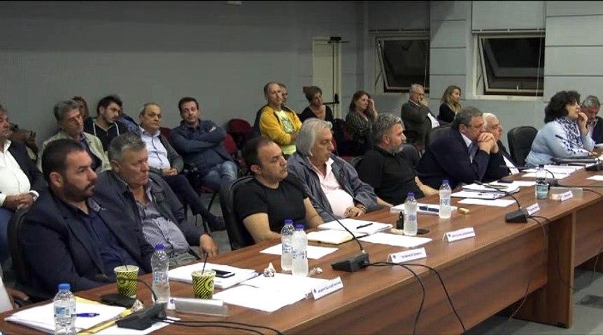 Δημοτικό συμβούλιο Χαλκιδέων για πρόσφυγες