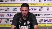 Avant le match  Amiens SC - Stade Brestois, Thomas Monconduit
