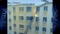 Un pompier se prend un KO en voulant sauver un enfant dans un appartement