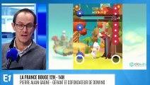 Pierre Alain Gagne, gérant et cofondateur de DOWiNO, entreprise spécialisée dans la création de serious games à impact social qui a créé Smokitten, le jeu vidéo pour arrêter de fumer