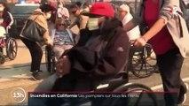 Incendies en Californie : les pompiers sur tous les fronts