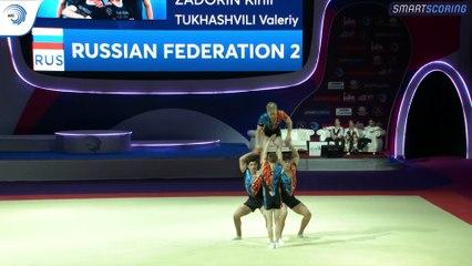2019 European Championships in Acrobatic Gymnastics - Holon (Israel) (10)