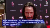 Keanu Reeves Could Join 'Fast and Furious' Franchise