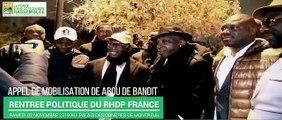 Rentrée politique du RHDP FRANCE : Appel de mobilisation de Abou de Bandit