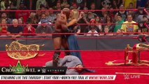 Rusev left crushed by Lana and Bobby Lashley