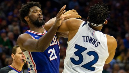 Joel Embiid & Karl-Anthony Towns Engage In All Out Social Media WAR After Chokeholds In INSANE Fight