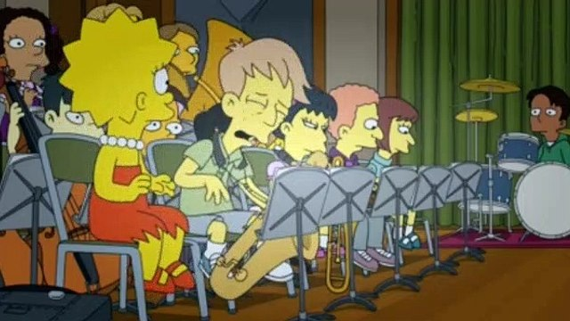The Simpsons Season 30 Episode 19 Girl's in the Band