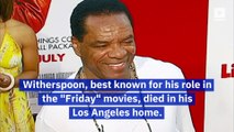 Comedian and Actor John Witherspoon Dies at 77