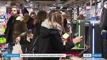 Commerces : faut-il ouvrir les supermarchés jusqu'à minuit ?