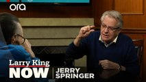 'The Jerry Springer Show', life lessons, and escapism -- Jerry Springer answers your social media questions