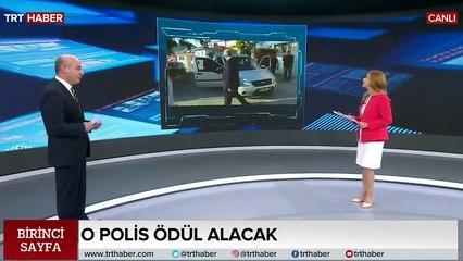 Alkollü sürücüyü durdurmak için araç önüne atlayan polise ödül verilecek