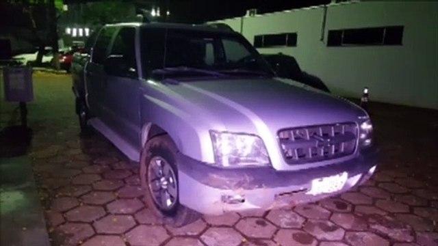 Caminhonete S10 furtada em Cascavel é recuperada em ação da Polícia Civil e da PRF em Céu Azul