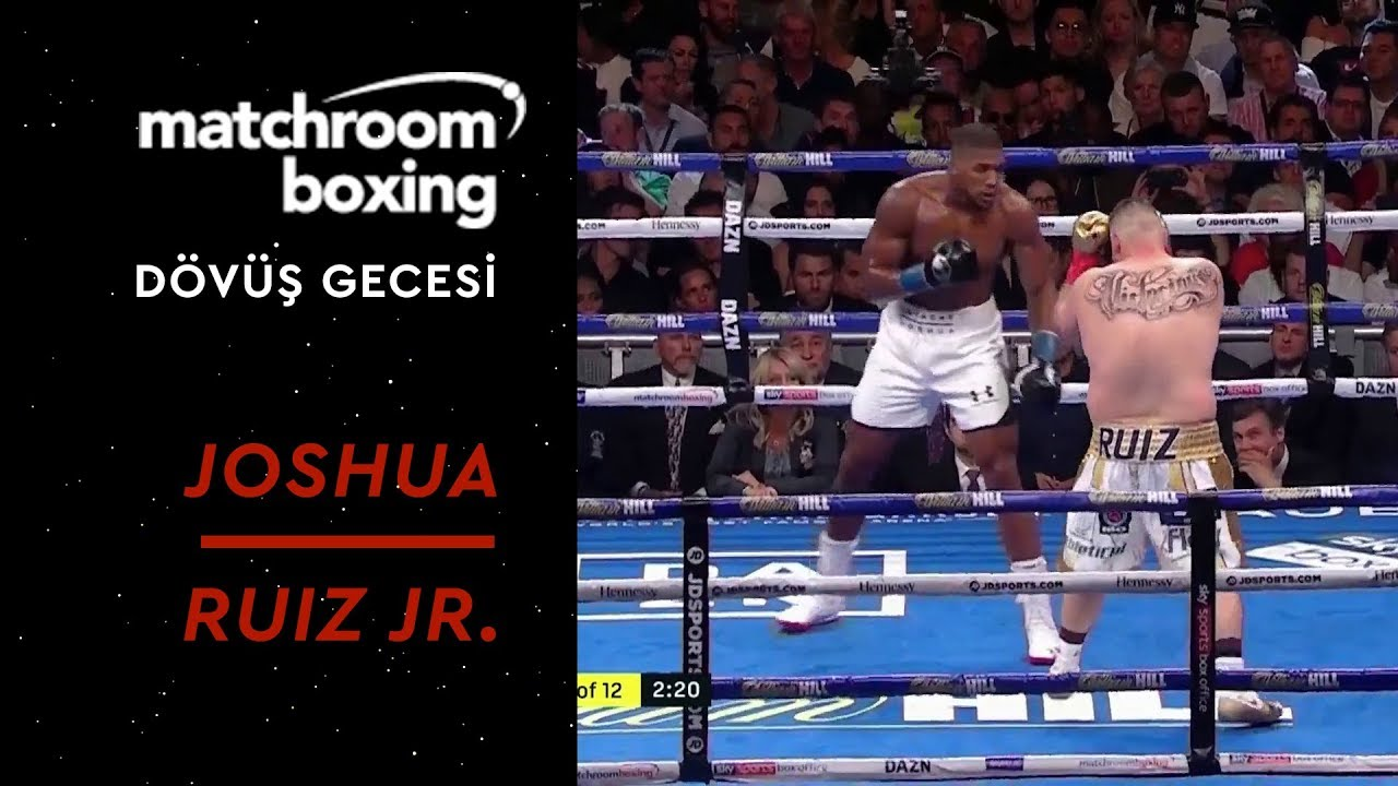 Matchroom Boxing Night | Anthony Joshua vs Andy Ruiz Jr.