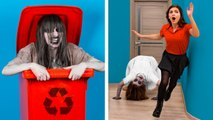Try Not To Laugh- 14 Halloween Pranks Gone Wrong - DIY Halloween Decor Ideas