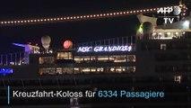 """Stadt auf dem Meer: Kreuzfahrt-Koloss """"MSC Grandiosa"""""""