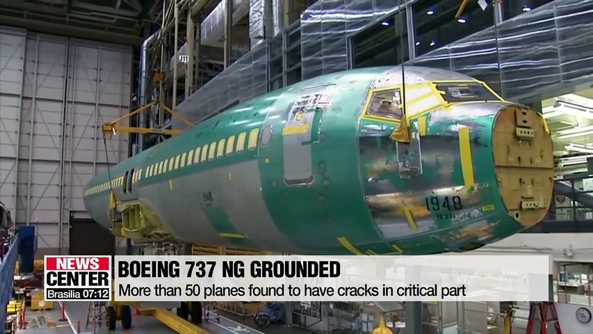Around 50 Boeing 737 NGs grounded after cracks detected