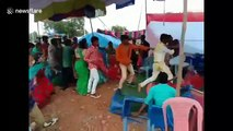 Wedding from hell in India as in-laws get into fistfight over music choices