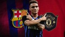 يورو بيبرز: مانشستر يونايتد ينافس برشلونة على ضم مارتينيز