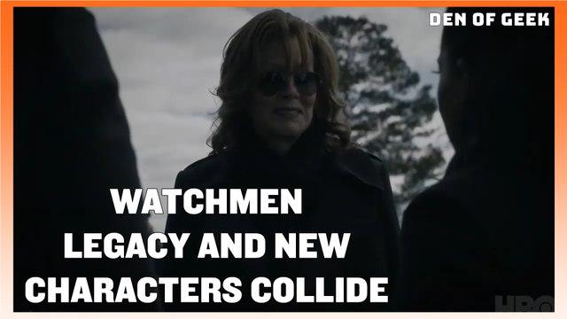 Watchmen (2019) - Tim Blake Nelson and Jean Smart Interview
