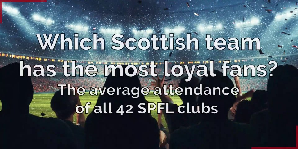 Scottish Premier League: Which team has the most loyal fans?