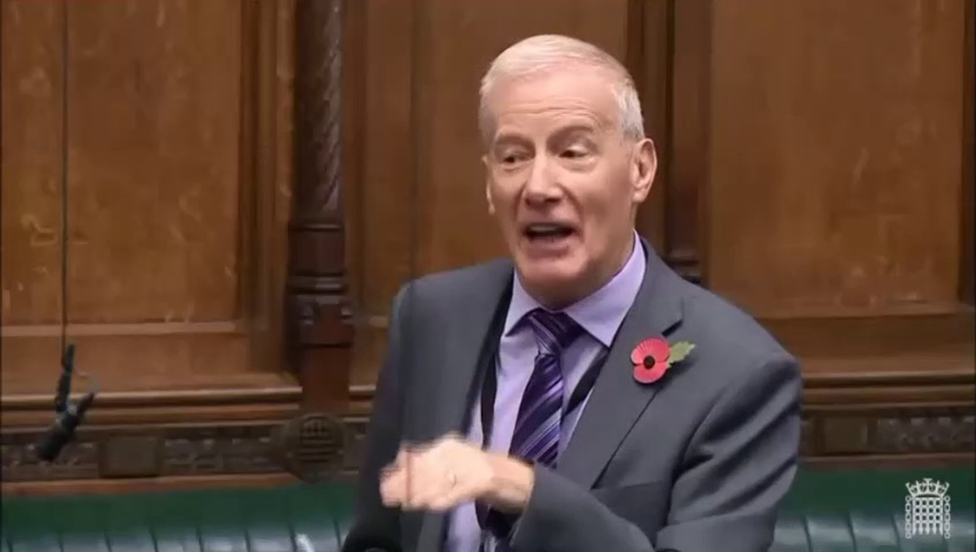 Video: Gregory Campbell pays tongue-twisting tribute to John Bercow